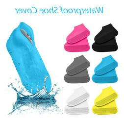 US Waterproof Shoes Cover Silicone Foldable Wear-Resistant R