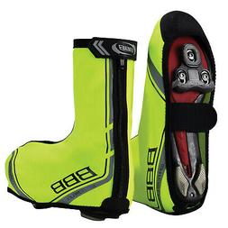 Bbb Waterflex Waterproof Cycling Commuter Shoe Covers Neon Y