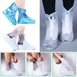 Waterproof Long Disposable Boots Cover Zipper Rain Shoes Cov