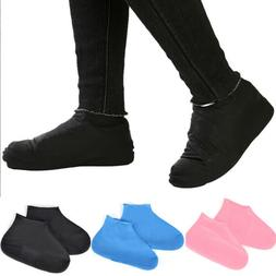 waterproof non slip thickened latex shoe covers