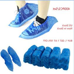 Waterproof Plastic Boot Covers  Elastic Shoe Covers Overshoe