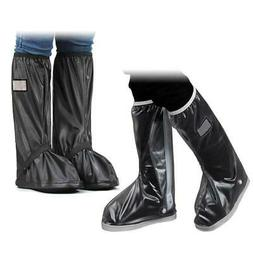 Waterproof Rain Boots Black Protective Overshoes Road Bike S