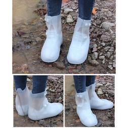 Waterproof Rain Shoe Boot Covers Reusable Foldable Outdoor T