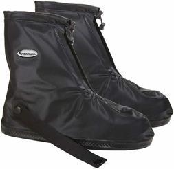 Waterproof Rain Shoe Cover Boot-2XL Black