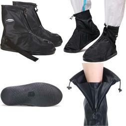 Szat Pro Waterproof Rain Shoe Cover Boot-4Xl Black