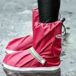 waterproof rain shoe covers reusable overshoes non
