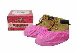 ShuBee® Waterproof Shoe Covers - Pink