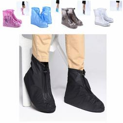 Waterproof Shoe Covers Rain Snow Boots Cover Reusable Unisex
