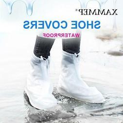 Waterproof Shoe Covers Reusable Overshoes For Women Flats an