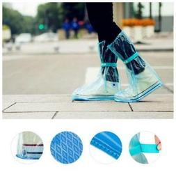Waterproof Thick Plastic Disposable Rain Shoe Covers High-To