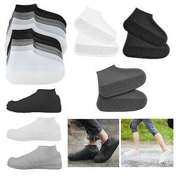 Waterproof Silicone Shoe Cover Outdoor Rainproof Hiking Skid