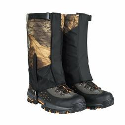 Waterproof Snow Leg Gaiters Shoes Boots Covers for Hiking Wa
