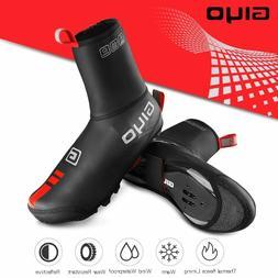 Waterproof Windproof Fleece Cycling Road bike Lock Shoes Cov