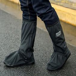 Waterproof Zipper Shoe Covers Rain Boot Reusable Portable Ov