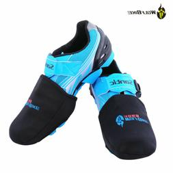Windproof Cycling Shoes Toe Covers Bicycle Bike Overshoe The