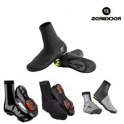 ROCKBROS Winter Bike Cycling Shoe Covers Waterproof Warm Ove