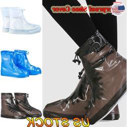 Women Rain Waterproof Shoe Silicone Non-Slip Covers Boot Cov