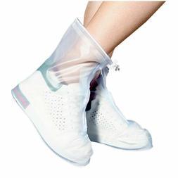ARUNNERS Women Waterproof Shoe Covers Rain Boots Overshoes T