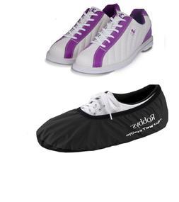 Womens 900 Global KICKS Bowling Shoes White/Purple Size 6-11